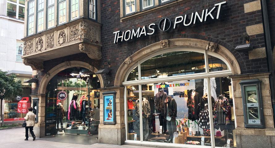 Thomas i-Punkt Store in Hamburg