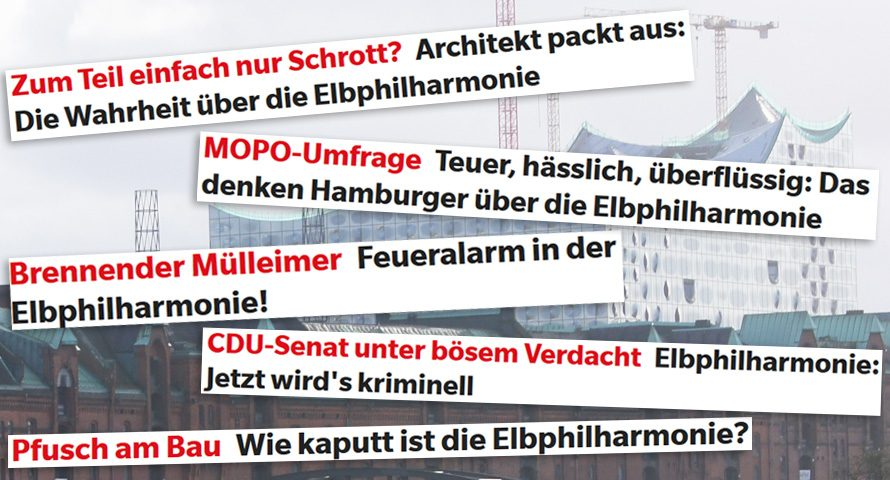Elbphilharmonie fertig: MOPO gehen die Themen aus
