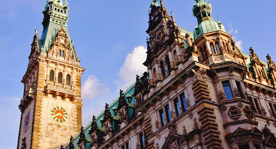 Heiraten im historischen Hamburger Rathaus