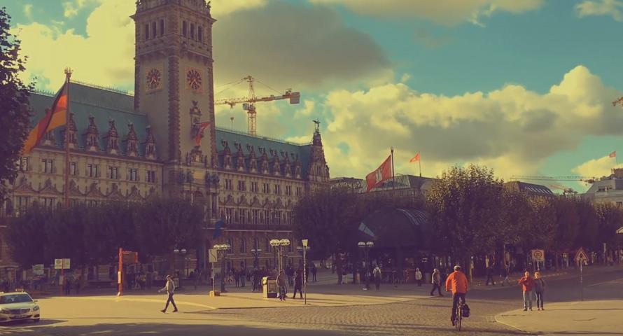 Rathausmarkt im Video
