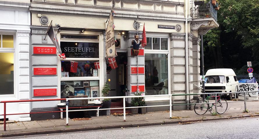 Zum Seeteufel - Kneipe in Ottensen / Altona Hamburg