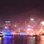 Silvester an der Elbe (Video)