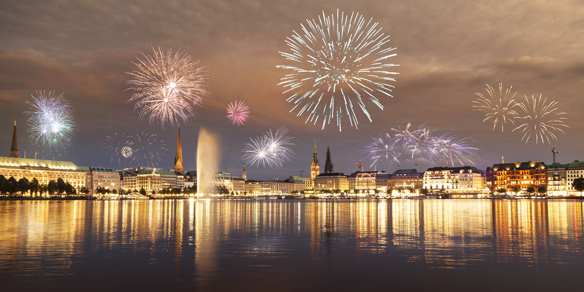 Silvester in Hamburg erleben