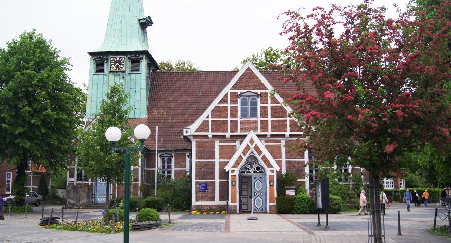 St. Petri und Pauli Kirche in Hamburg Bergedorf