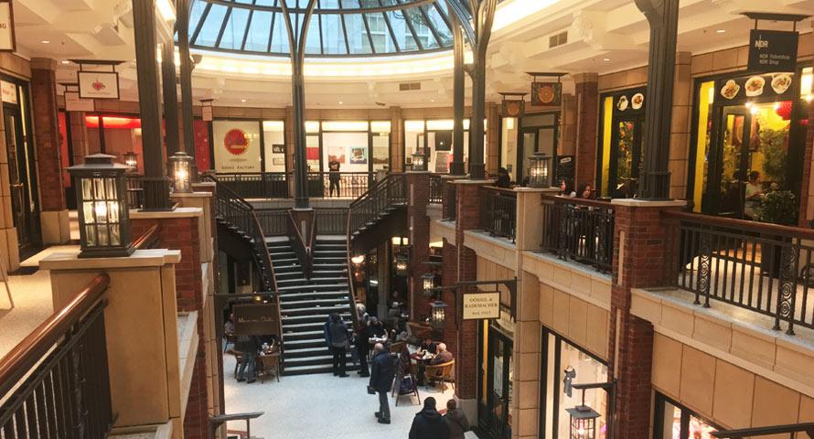 Einkaufspassage Levantehaus in Hamburg
