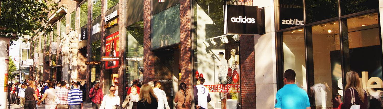 Shoppen und bummeln in Hamburg