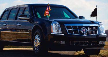 Hamburg warnt vor Trump's gepanzerter Limousine