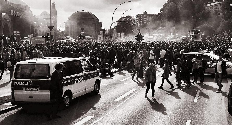 95 Ermittlungsverfahren gegen G20-Polizisten