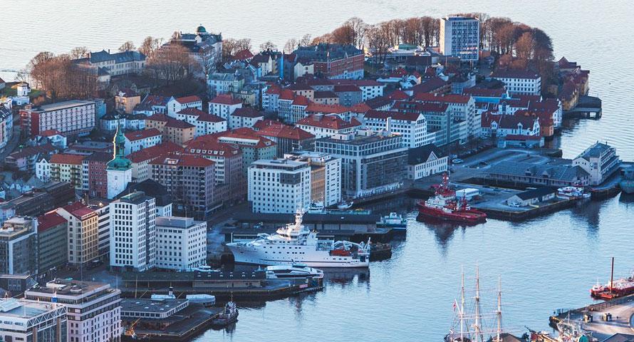 Ab Sommer lässt sich von Hamburg nach Bergen fliegen