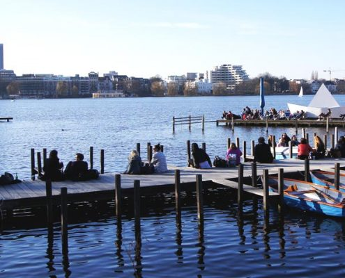 Beste Reisezeit für einen Trip nach Hamburg