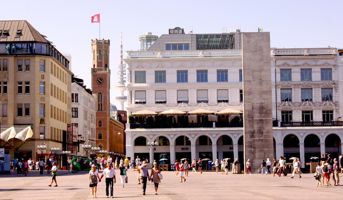 Lizenzfreies Hamburg Foto