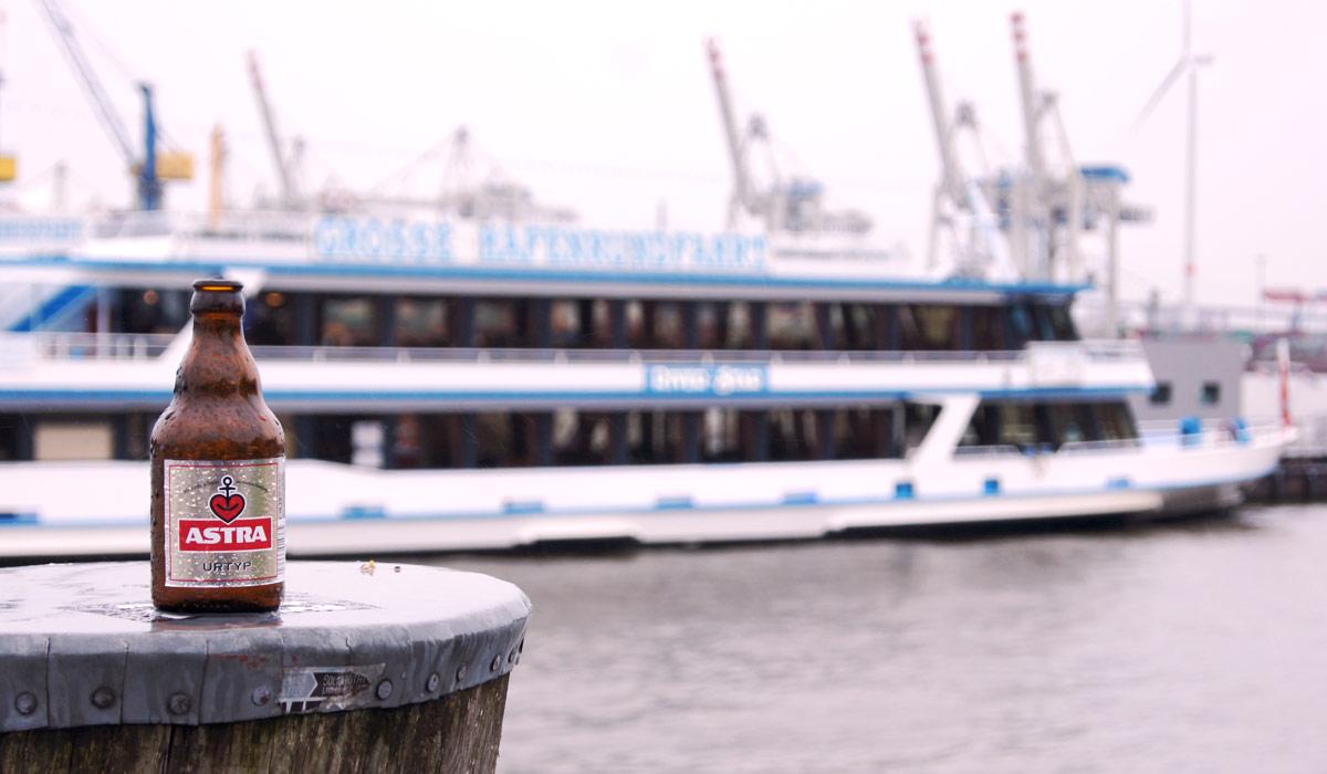 Direkt am Hafen