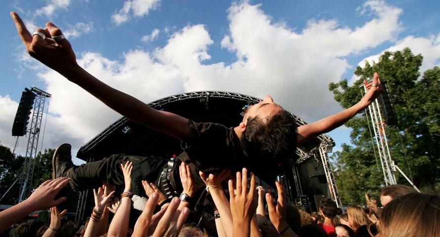 Wutzrock ist ein kostenloses Musikfestival in Hamburg