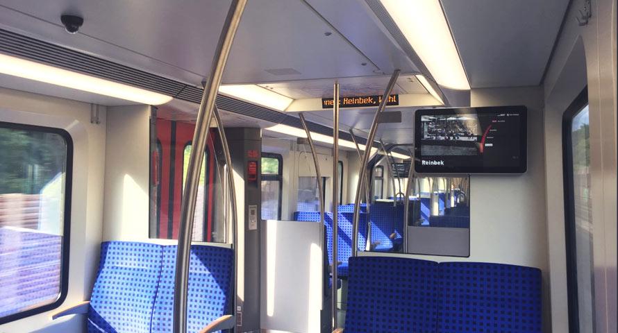 S-Bahn-Baureihe ET 490 Innenraum