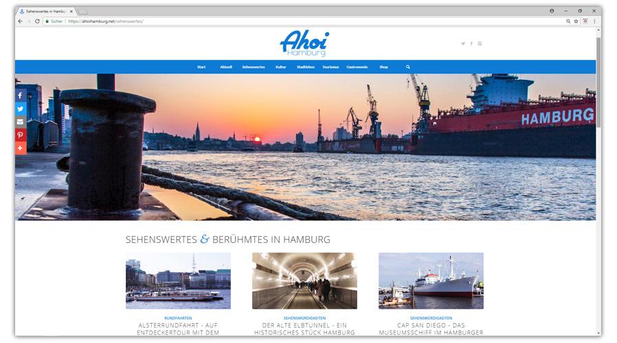 """Der """"Ahoi Hamburg"""" Blog - seit mehr als 5 Jahren aktiv"""