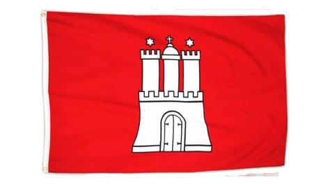 Hamburg Flagge als Souvenir