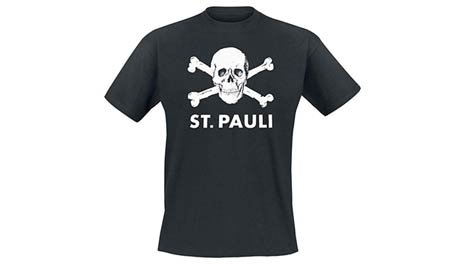 St. Pauli Shirt als Hamburg Souvenir