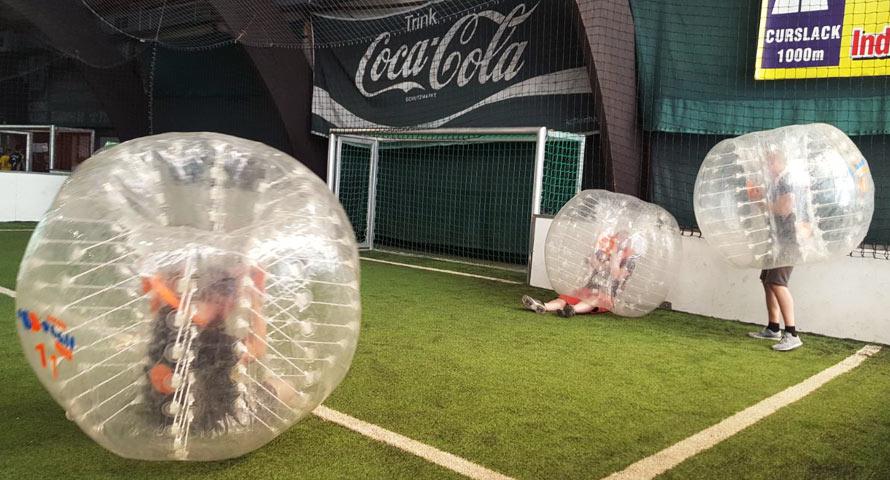 Bubble Soccer Spielen