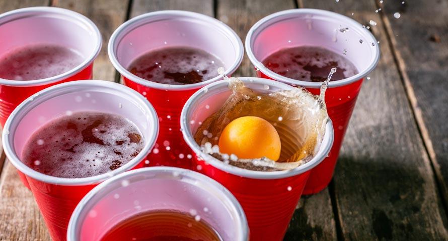 Bier-Pong bei JGA geht immer!