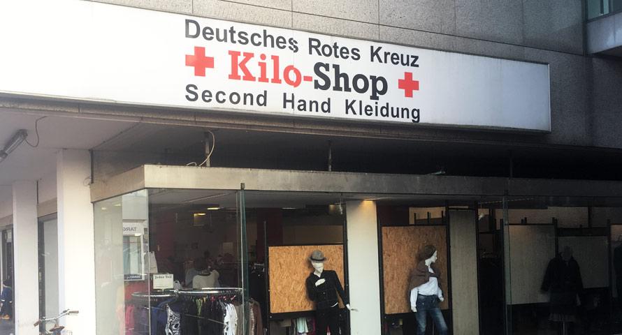 Second Hand vom DRK - günstig gebrauchte Kleidung kaufen