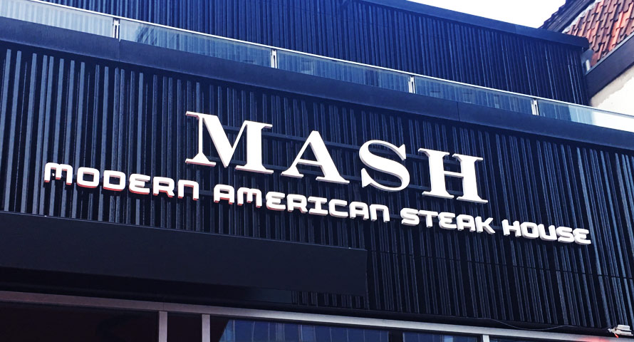 MASH Steak House in Hamburg