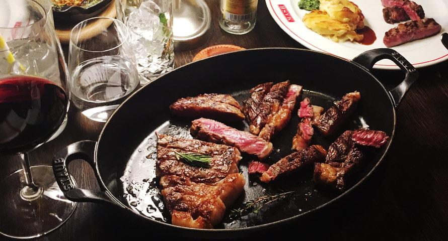 Steak-Tour - viele beliebte Fleischsorten aus der Pfanne probieren