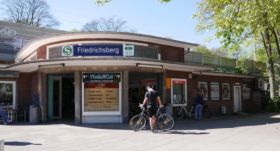 Bahnhof Friedrichsberg in Dulsberg