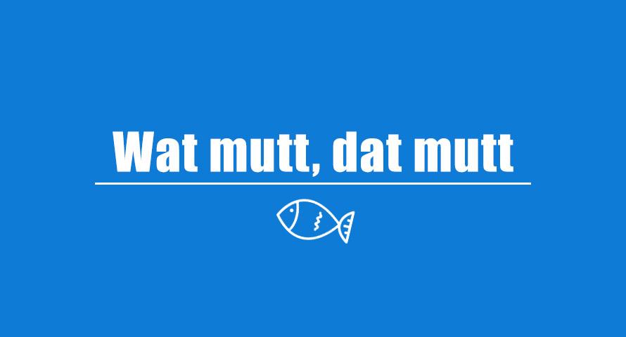 Wat mutt, dat mutt – Herkunft, Beispiele und Bedeutung des Wortes