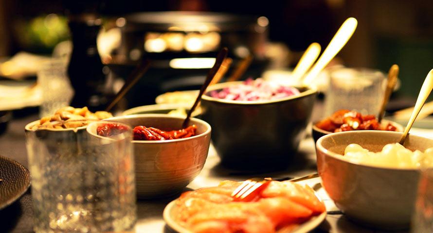 Raclette für unsere Silvesterfeier